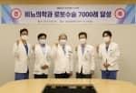 분당서울대병원, 비뇨의학과 다빈치 로봇수술 7,000례 달성